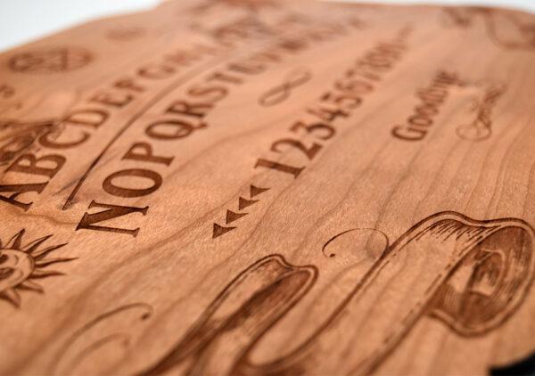 Cherry wood Ouija board