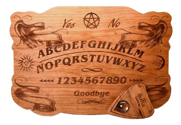 Elegant Cherry Ouija Board