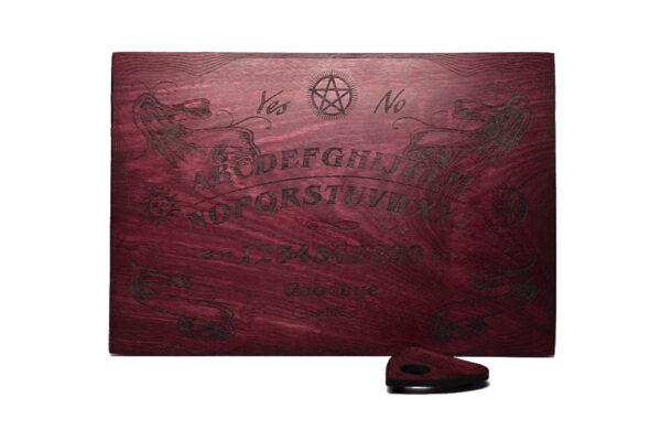 Beatus Lignum Purple Book Ouija Board