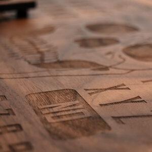 Beatus Lignum Skull Ouija Board