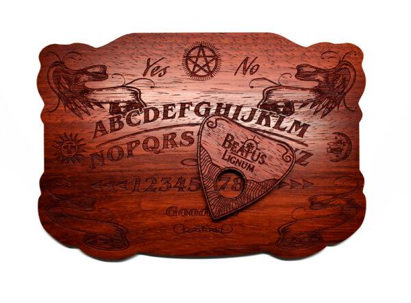 Beatus Lignum Mini Padauk Ouija Board