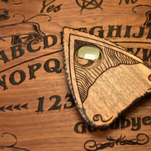 Beatus Lignum Hand burned ouija board